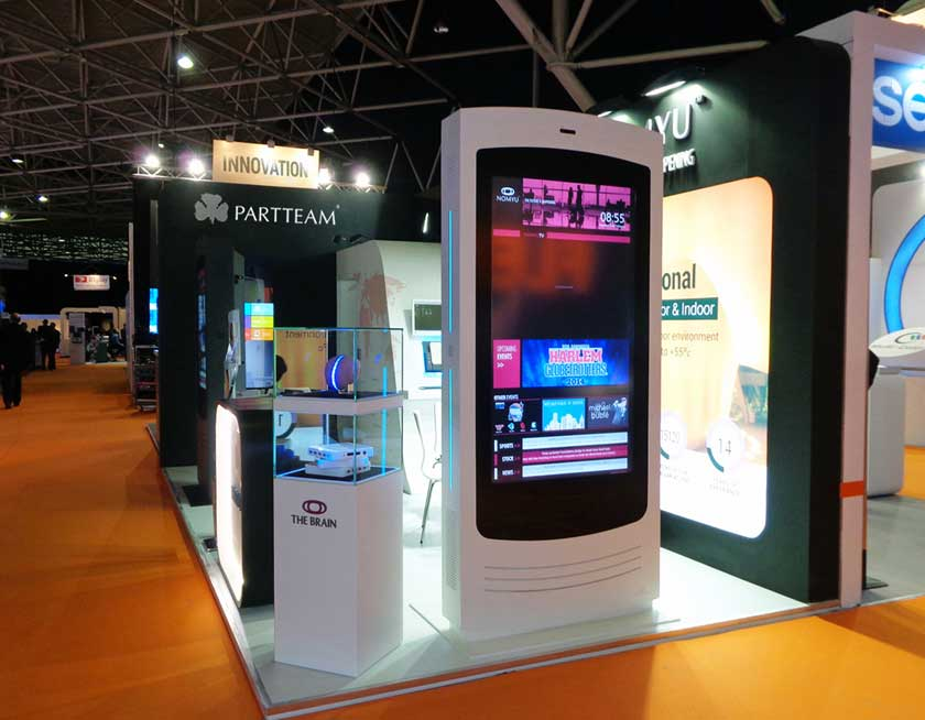 PARTTEAM & OEMKIOSKS at ISE 2014 presenting Nomyu