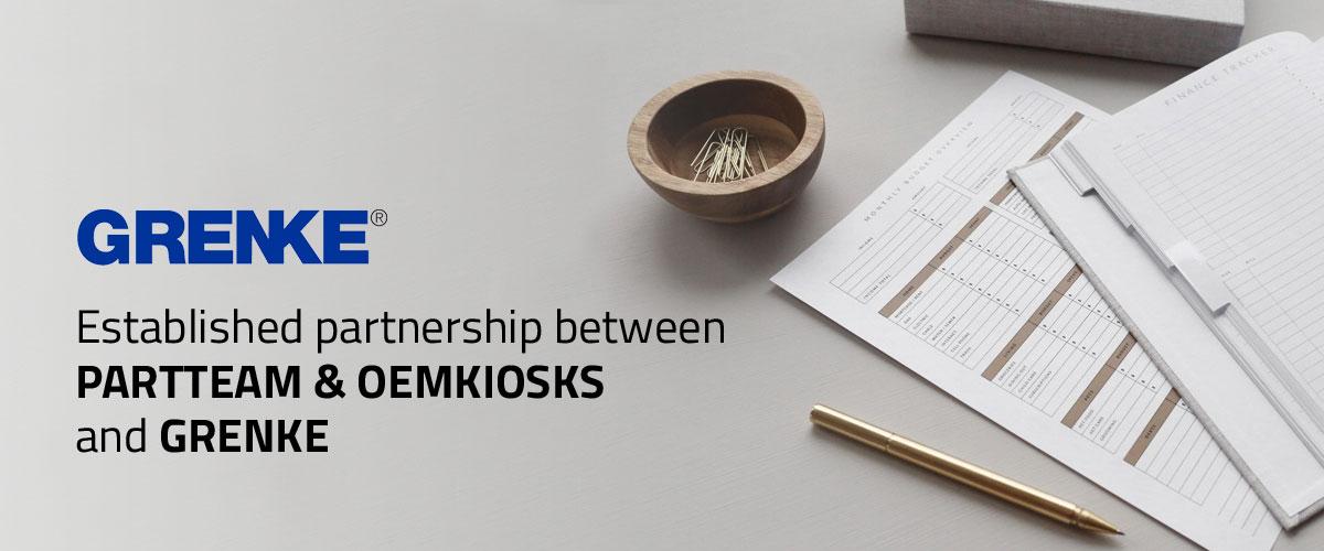 Grenke Financing Solutions by PARTTEAM & OEMKIOSKS