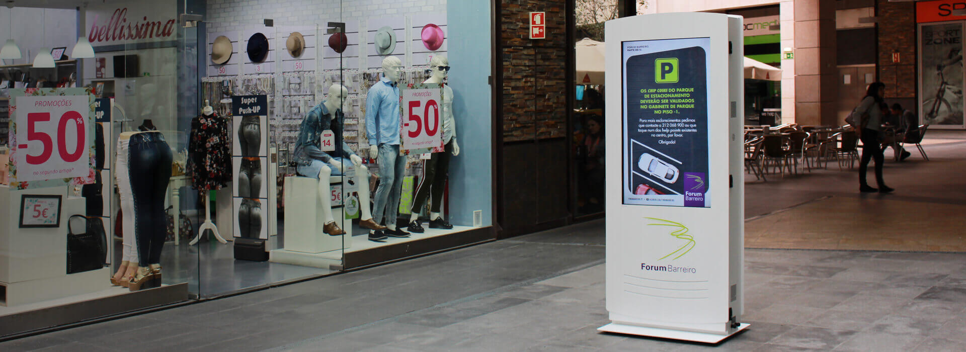 Digital Billboards for Shoppings Centers