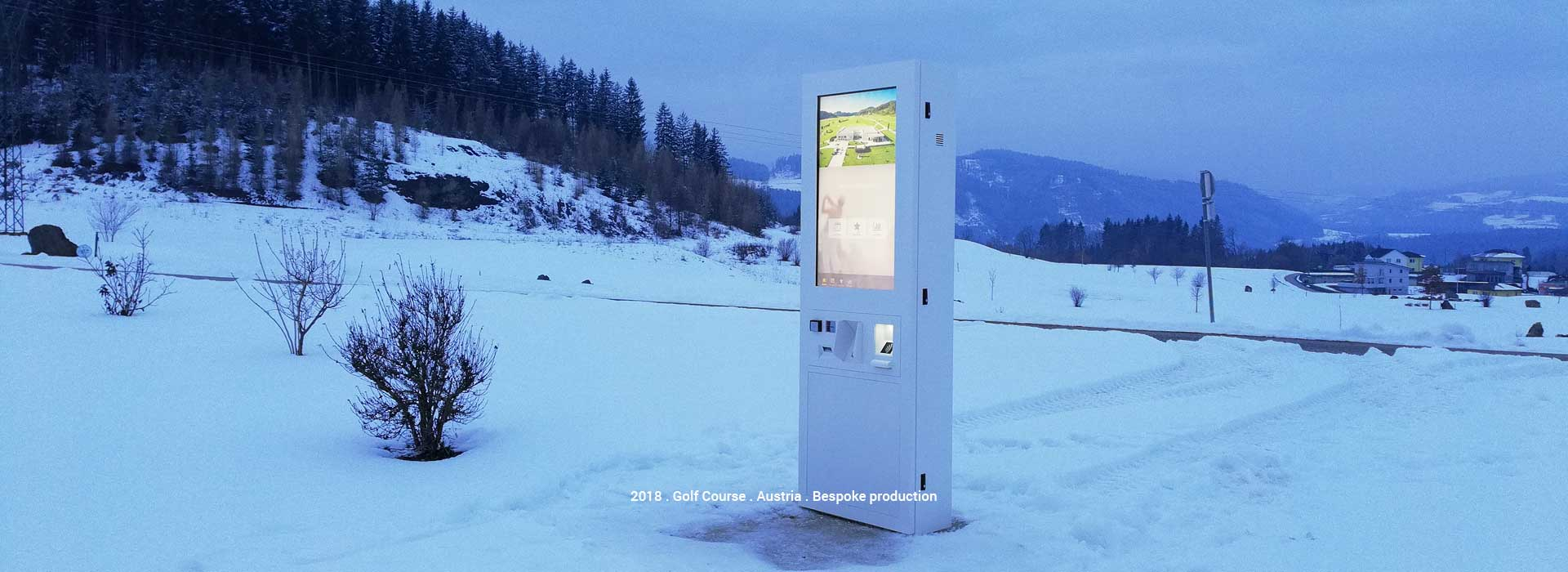Digital Kiosks with effective protection