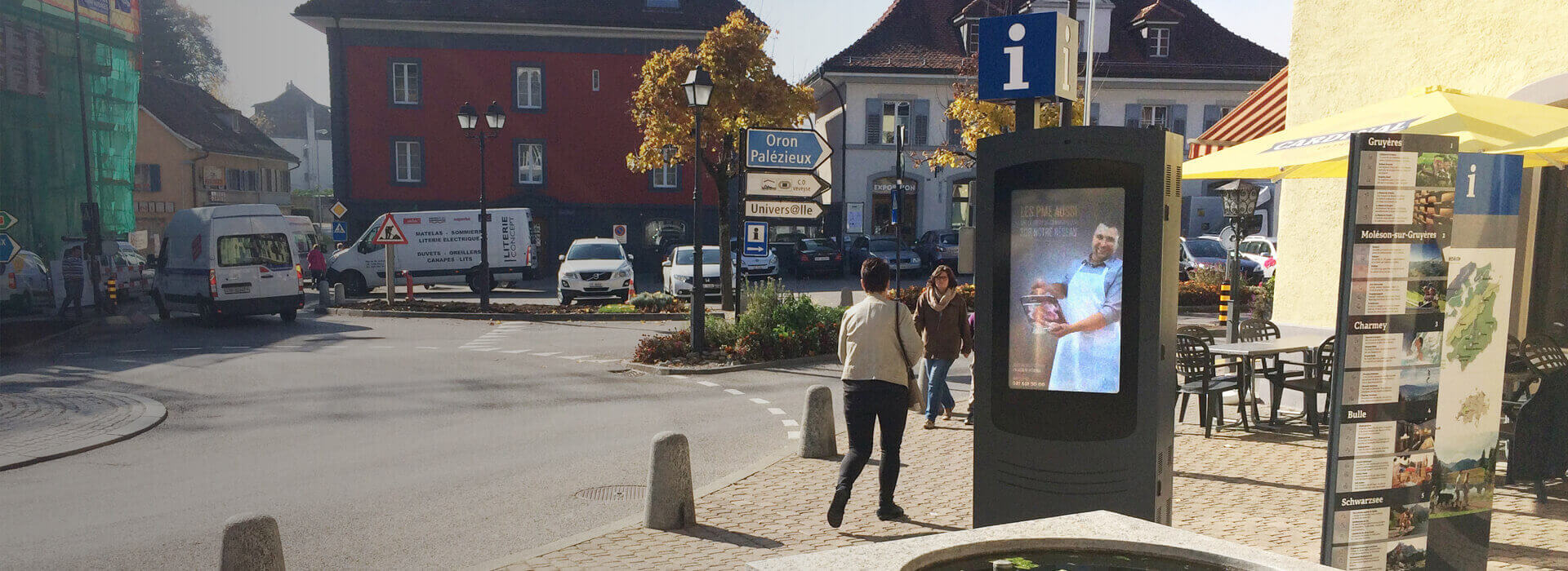 Interactive Digital Billboard