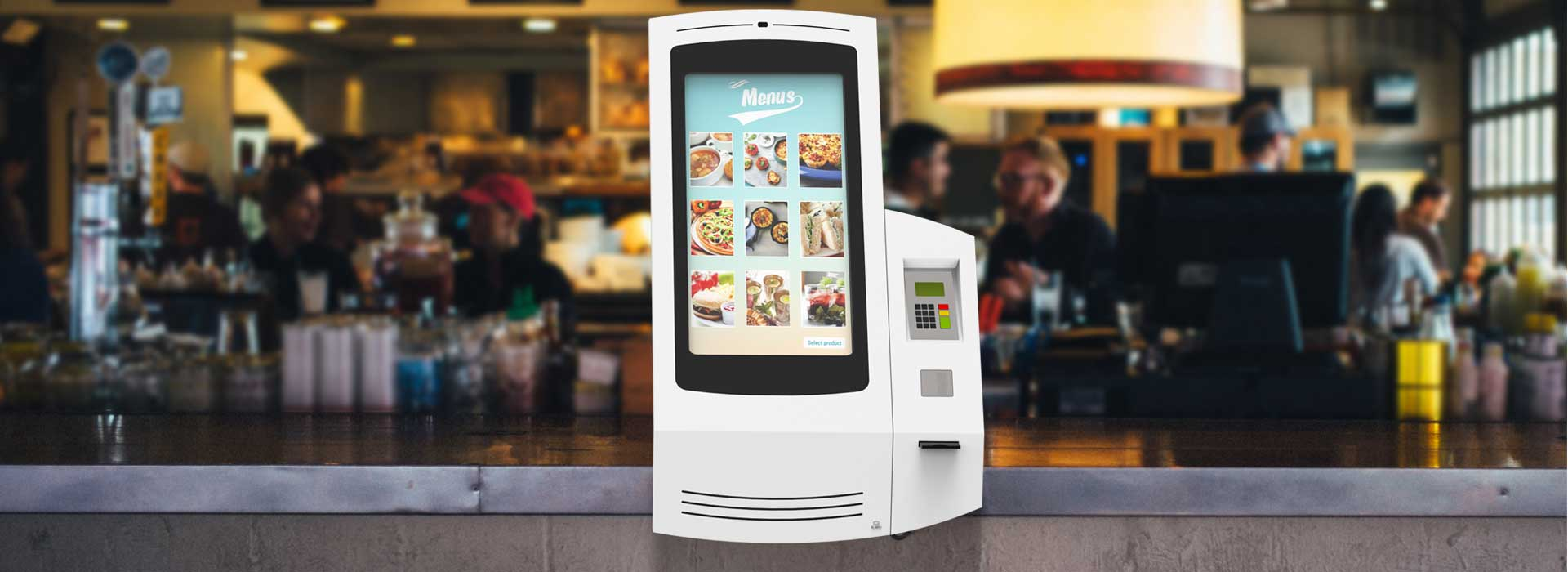 Kiosks Quick Service Restaurants (QSR)