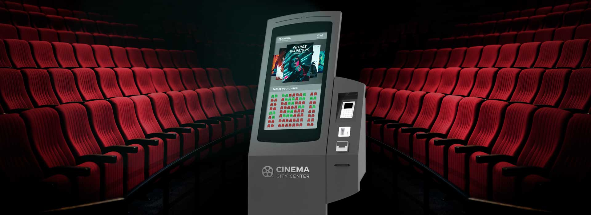 SELF-SERVICE KIOSKS FOR CINEMAS