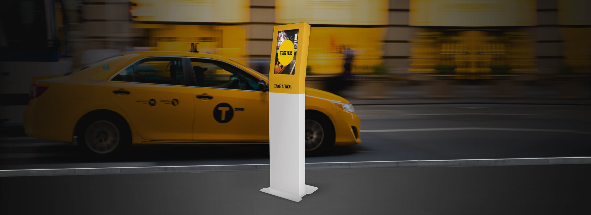Multimedia Kiosks for Taxis