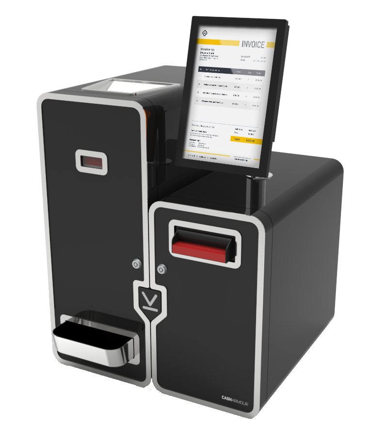 CASHARMOUR - Automate payment and receipt process by PARTTEAM & OEMKIOSKS