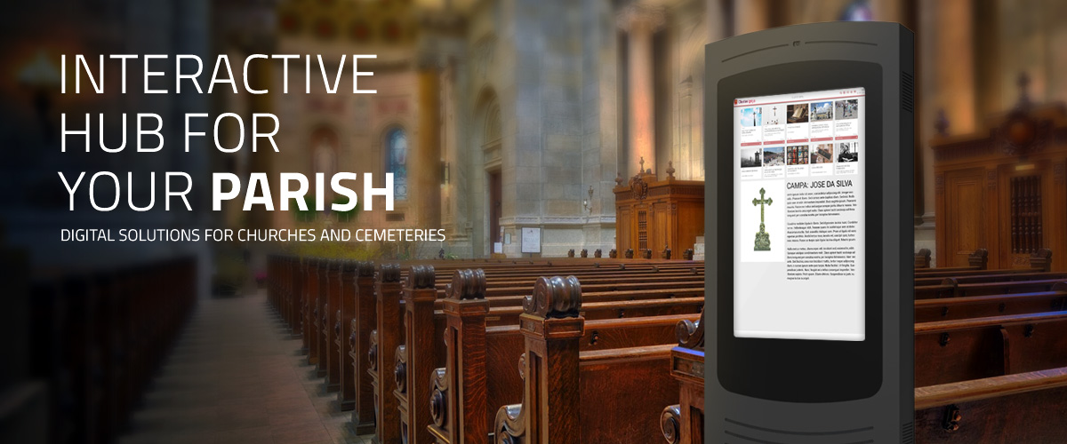 Digital solutions for churches and cemeteries