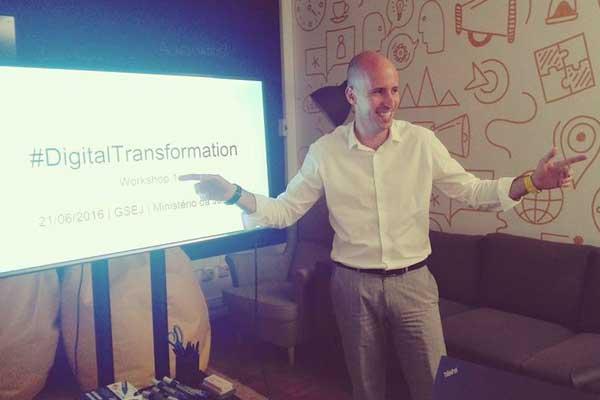 Hugo de Sousa - Innovation Manager of BearingPoint