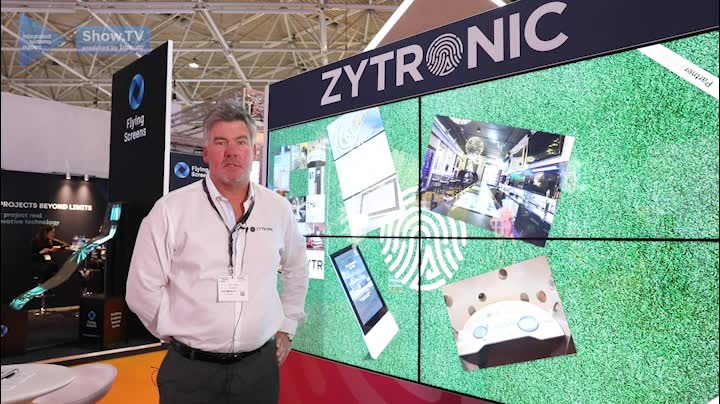 Ian Crosby - Sales and Marketing Director at Zytronic - Connecting Stories PARTTEAM & OEMKIOSKS