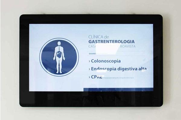 Digital Signage na Casa de Saúde da Boavista by PARTTEAM & OEMKIOSKS