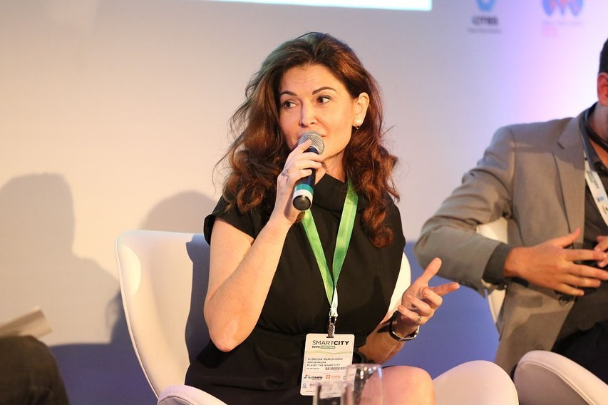 Susanna Marchionni - CEO of Planet Smart City in Brazil - Connecting Stories PARTTEAM & OEMKIOSKS