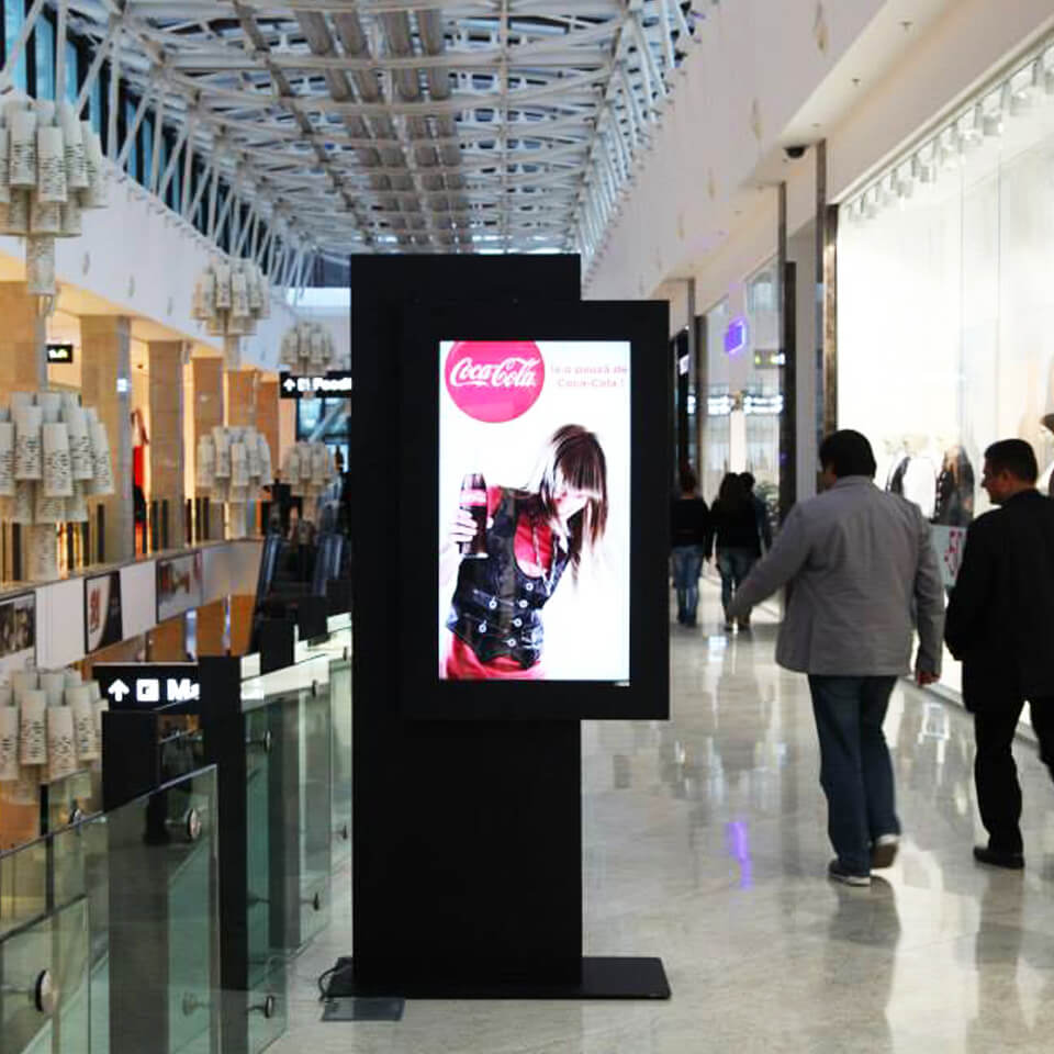 shopping digital signage by PARTTEAM