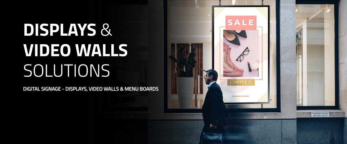 Displays & Video Walls by PARTTEAM & OEMKIOSKS