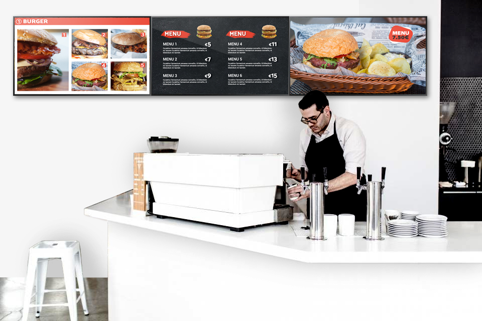 Digital Signage - Menu Boards
