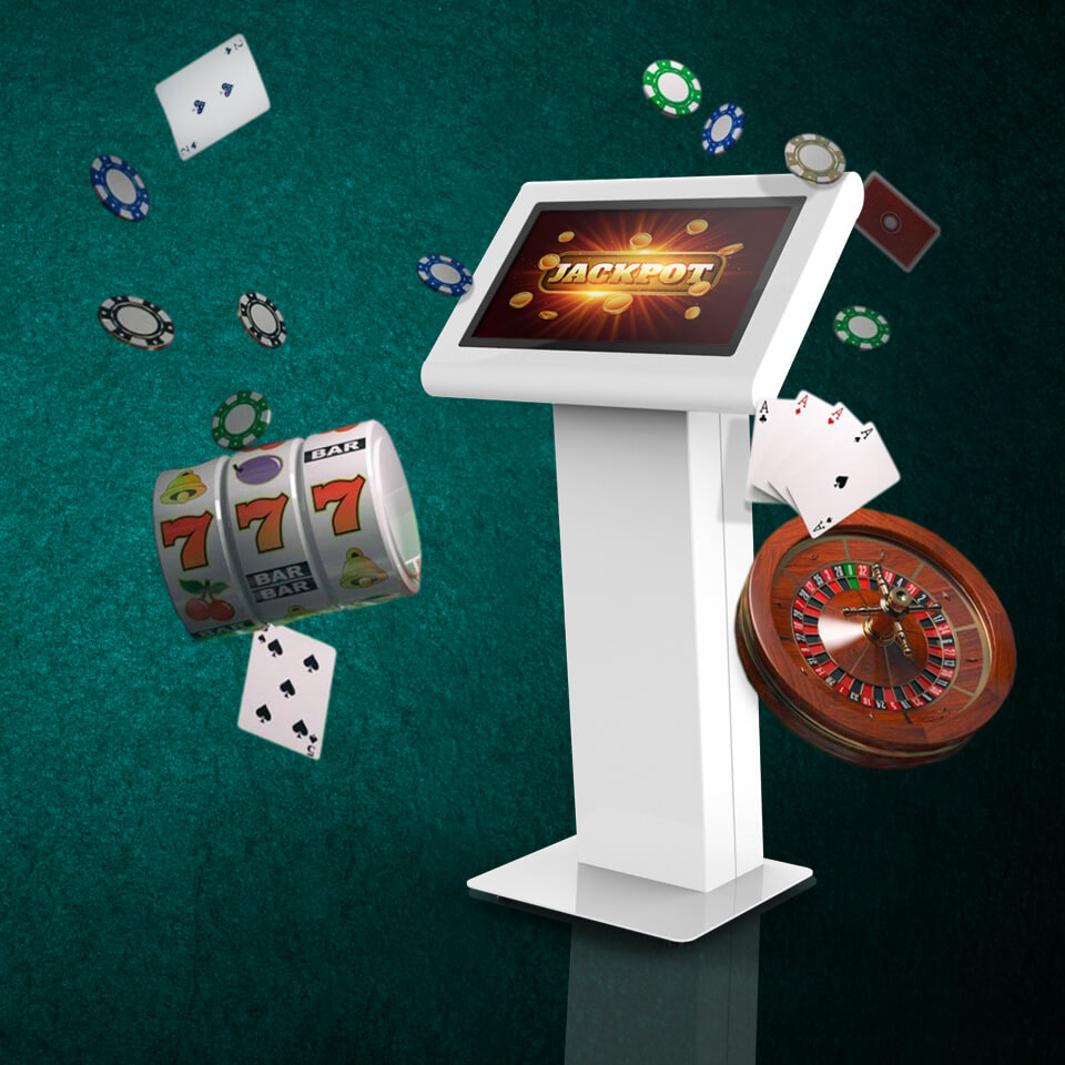 Kiosks for Gaming and Betting Houses - PARTTEAM & OEMKIOSKS