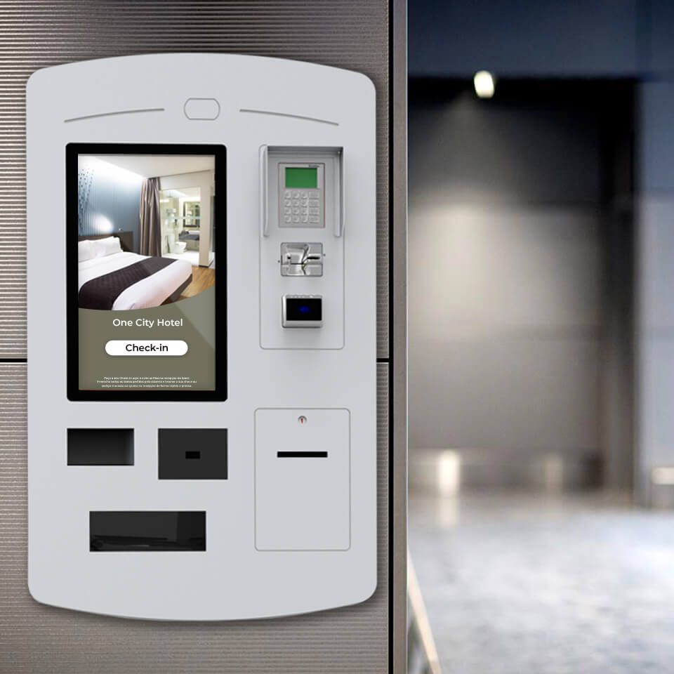 Check-in kiosks for hotels