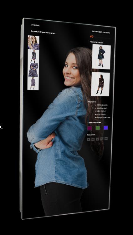 Digital Interactive Mirror