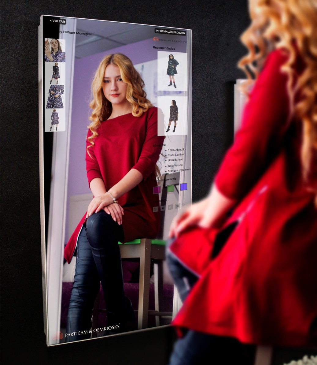 Digital Interactive Mirror - Omni-Channel