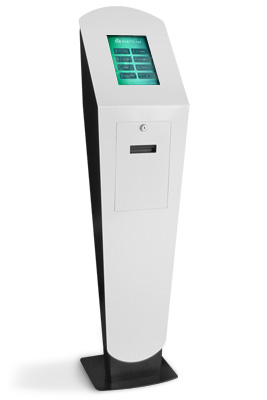 Qticket Touch Model OEMKIOSKS