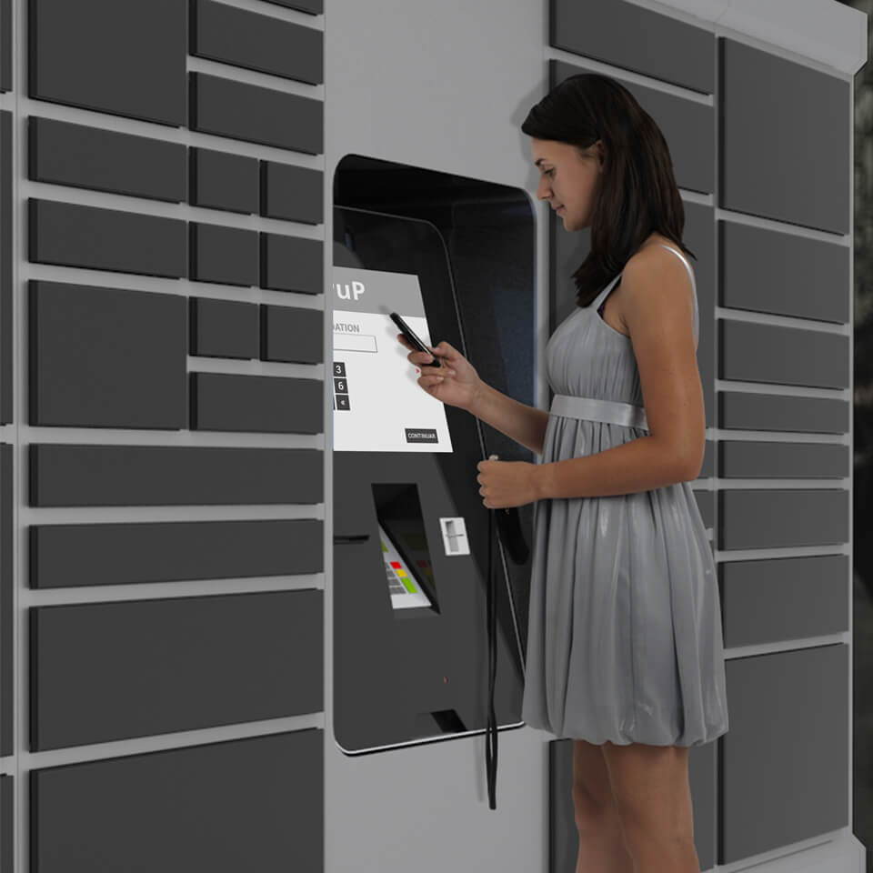 Pick-Up Station - The Store of the Future