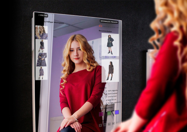 Multimedia Kiosks and Digital Billboards for Interactive Mirror