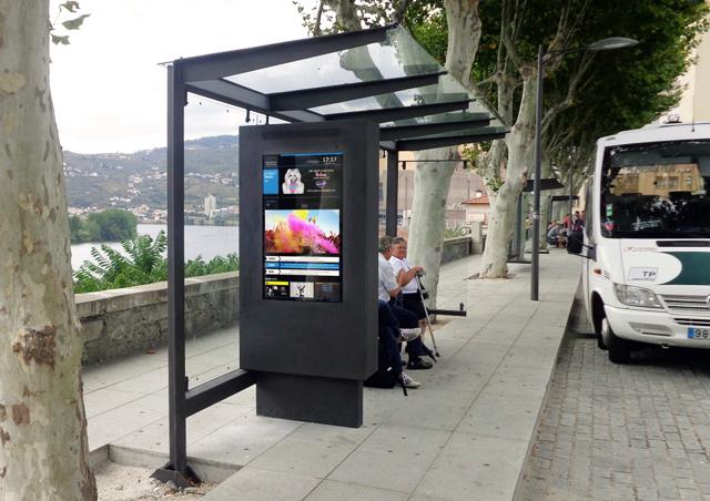 Multimedia Kiosks and Digital Billboards for Smart Bus Shelters