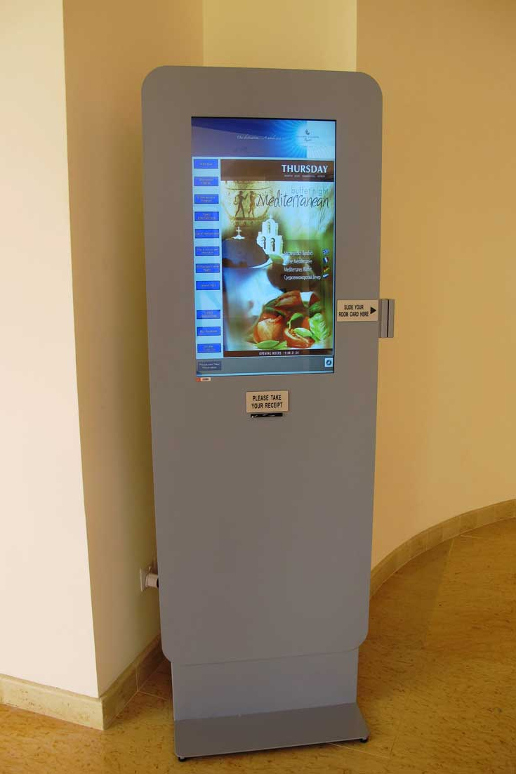 Digital kiosk improves Guest Experience in Cyprus