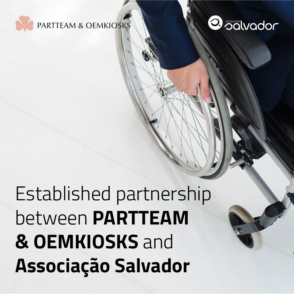 PARTTEAM & OEMKIOSKS Establishes Partnership with Associação Salvador