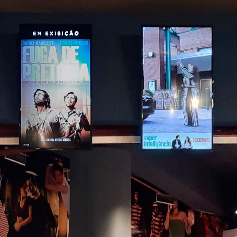 Castello Lopes Cinemas modernizes communication with PARTTEAM digital signage solution