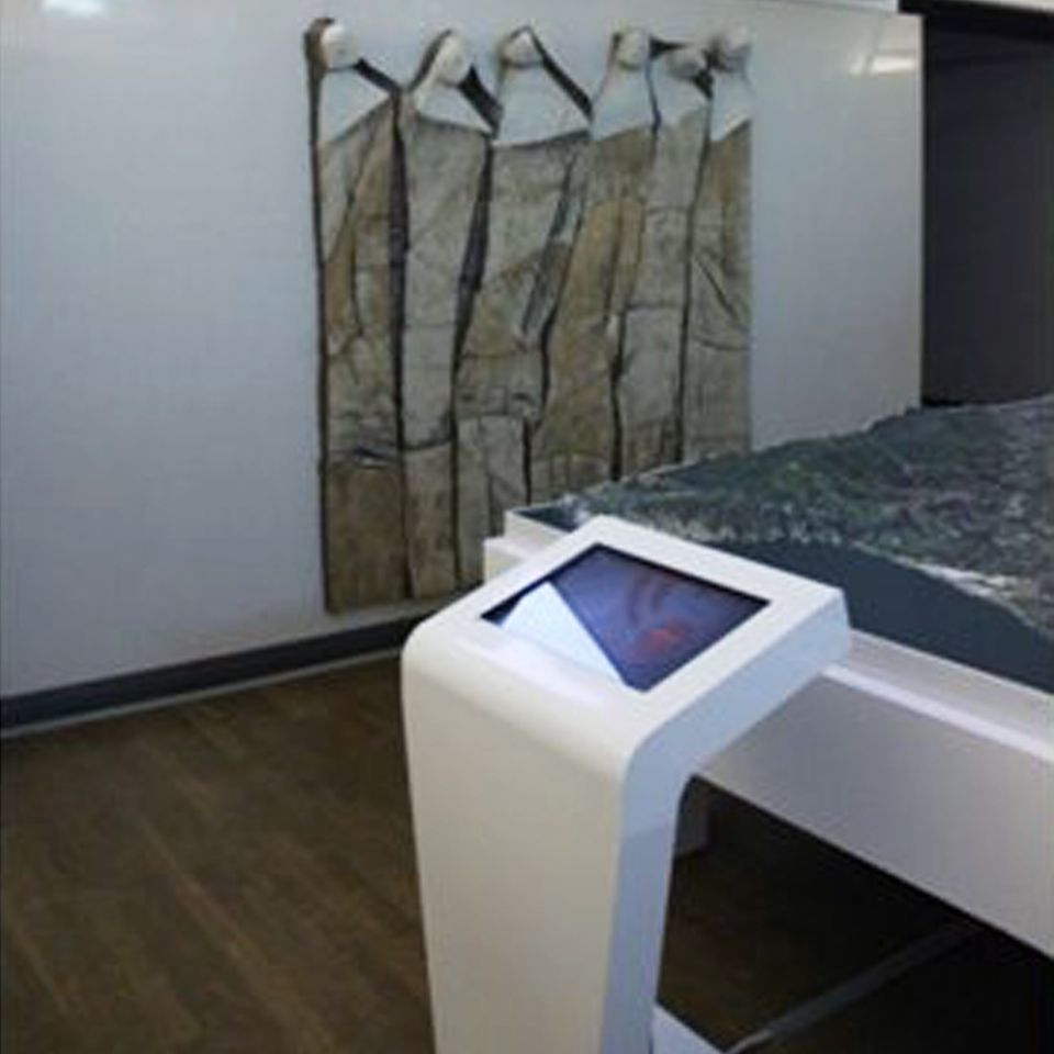 PARTTEAM & OEMKIOSKS develops kiosks for 3D modeling solutions with video projection