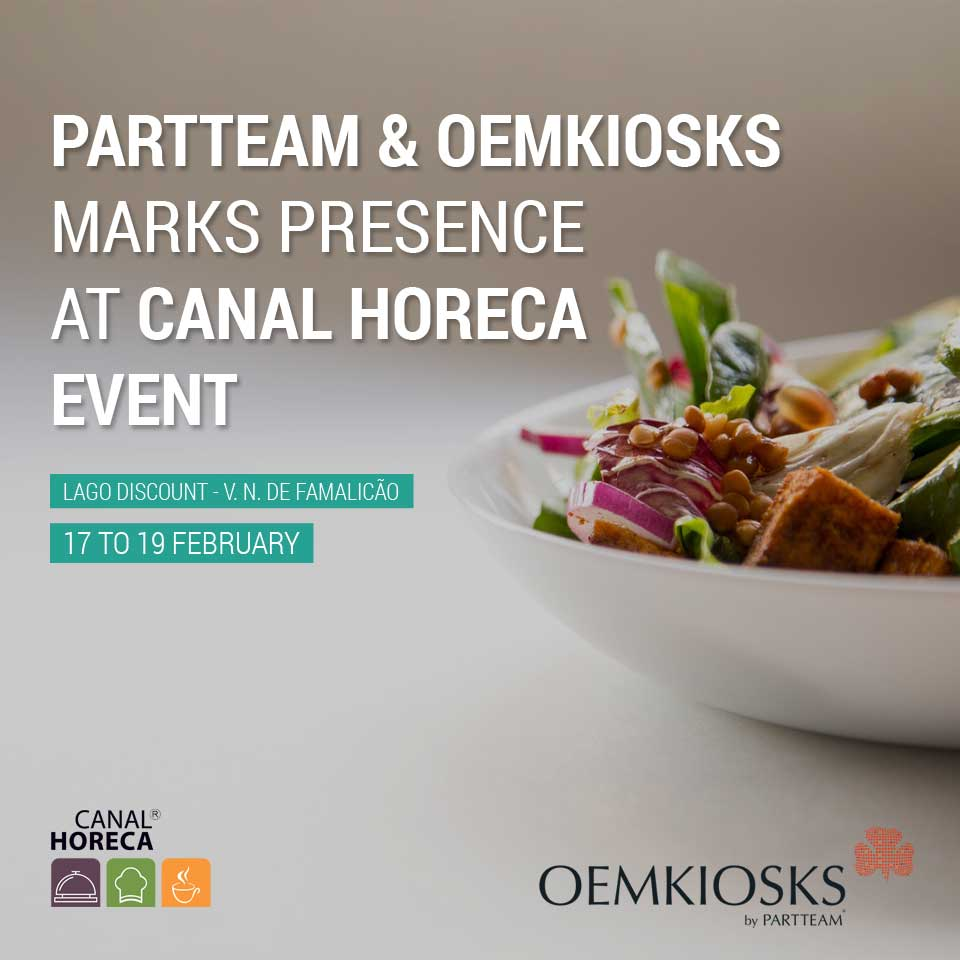 PARTTEAM & OEMKIOSKS marks presence at Canal Horeca Event