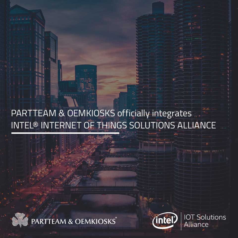 PARTTEAM & OEMKIOSKS is now member of INTEL® INTERNET OF THINGS SOLUTIONS ALLIANCE