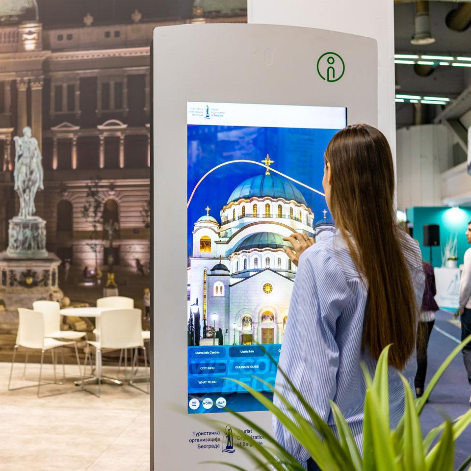PARTTEAM & OEMKIOSKS Solutions Present at Belgrade Tourism Fair 2020