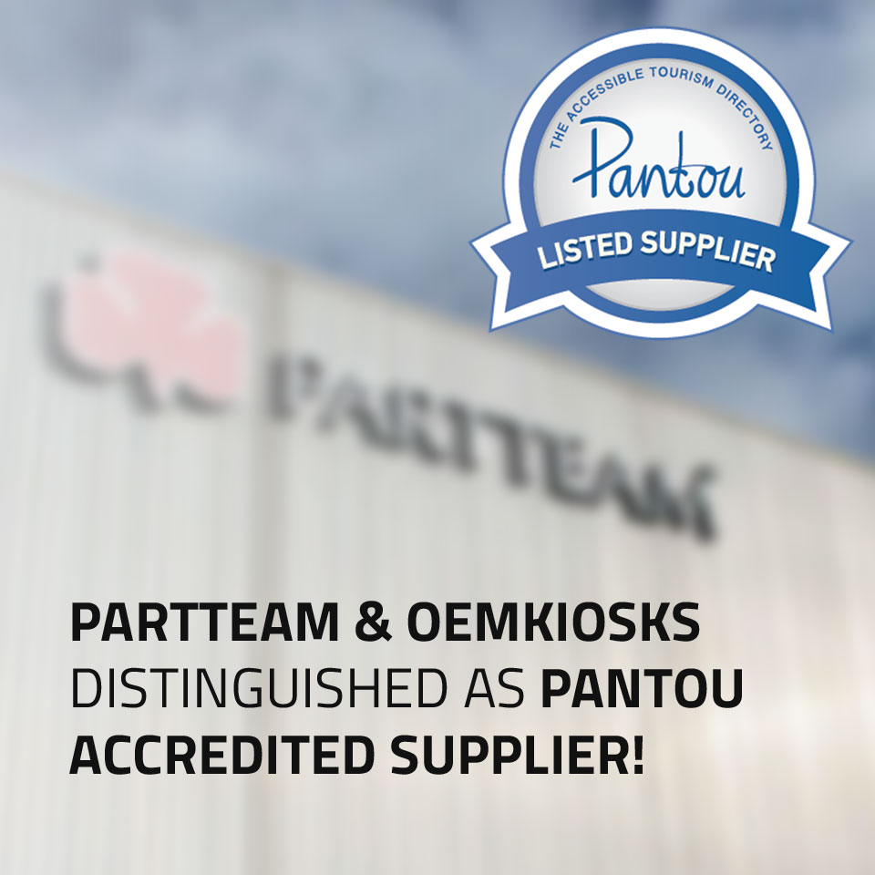 PARTTEAM & OEMKIOSKS Distinguished as Pantou Accredited Supplier