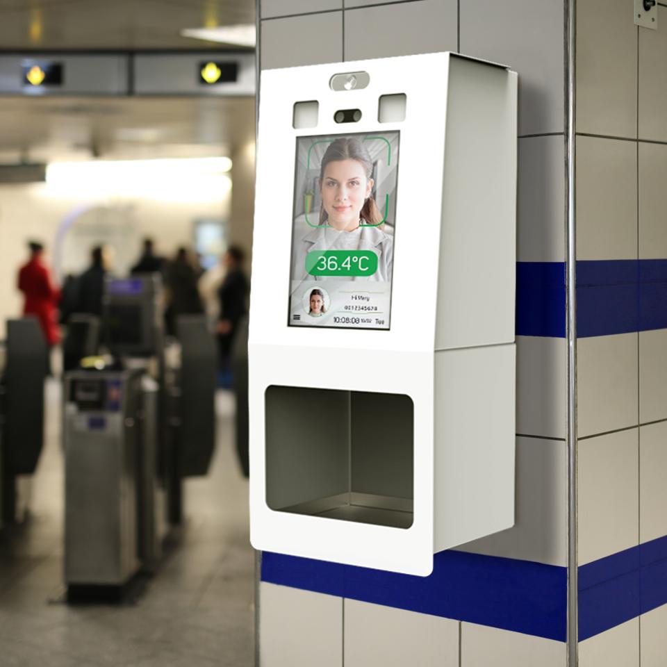 HAND: The gel dispenser kiosk for disinfection