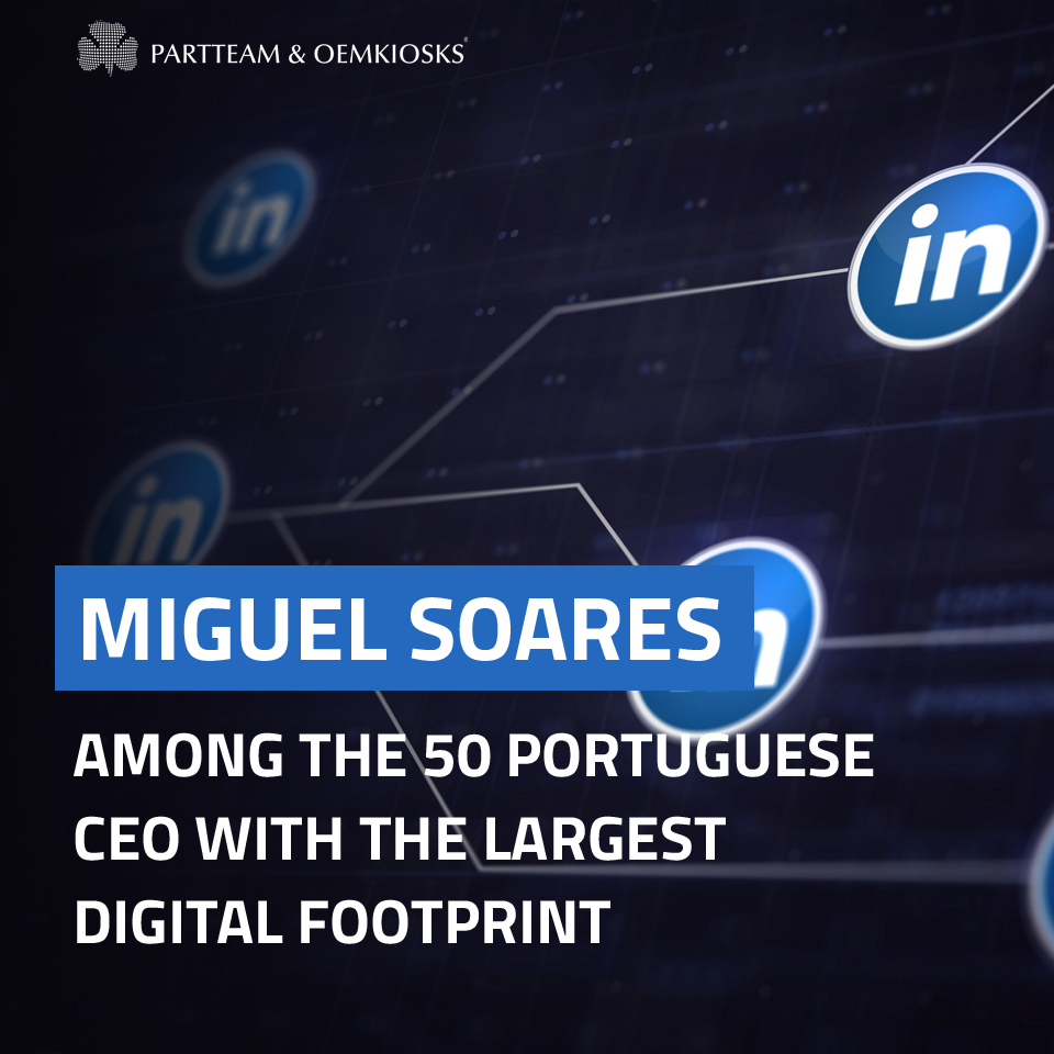 Miguel Soares among the 50 portuguese CEO with the largest digital footprint