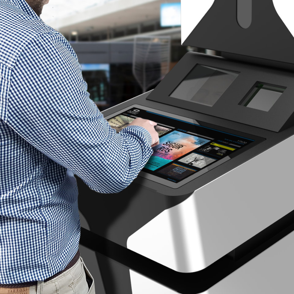 Technology at the service of airport productivity with the ONGON self-service kiosk