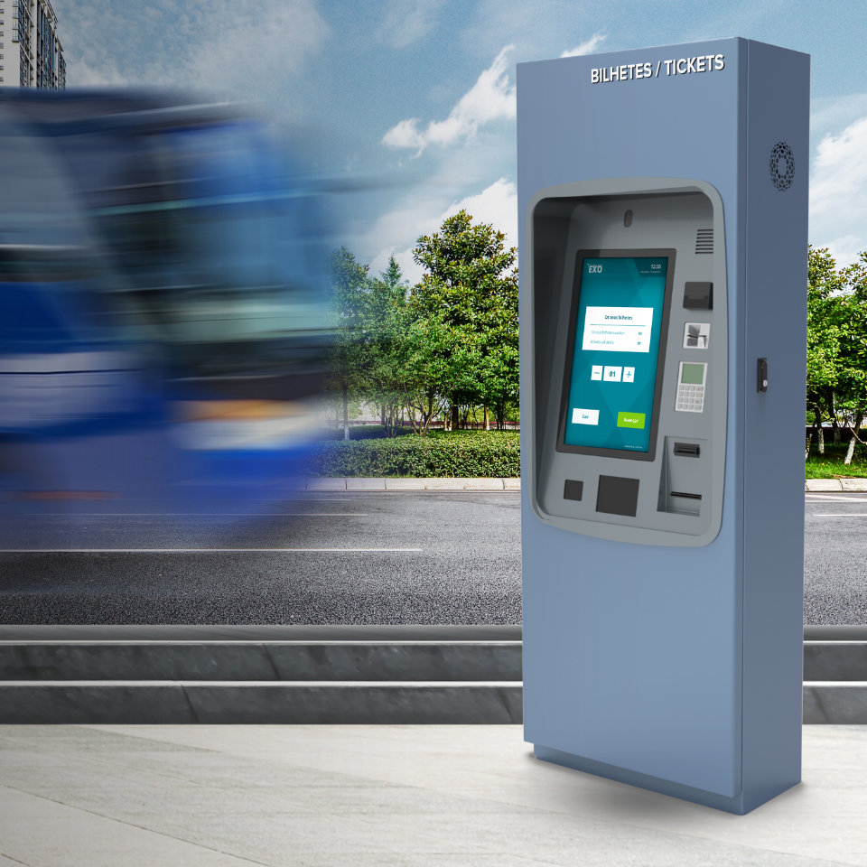 Transact EXO: The ticketing and payment kiosk that provides user autonomy
