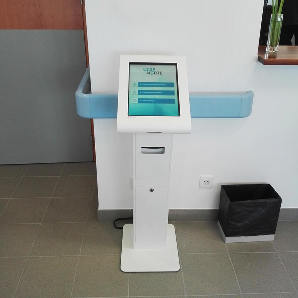 Centro de saúde de carvide improves their waiting queue management system