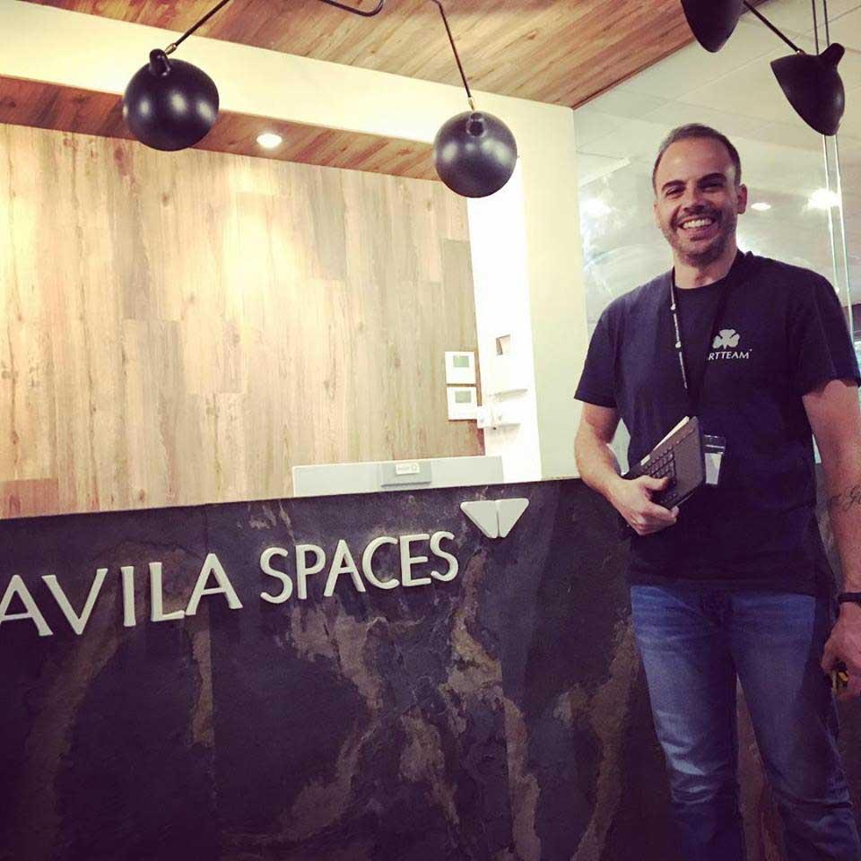 Digital Signage in Avila Spaces
