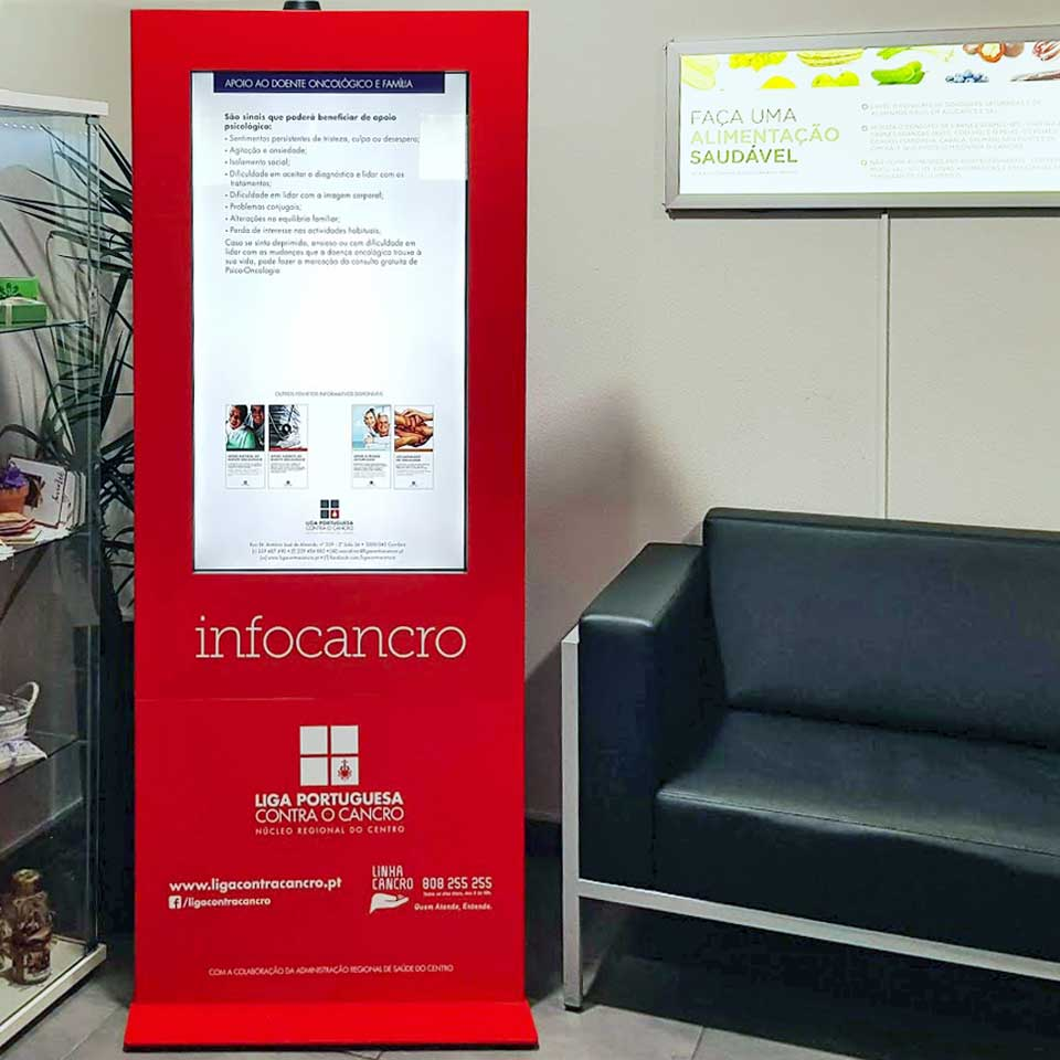 Digital Billboard for the Liga Portuguesa contra o cancro