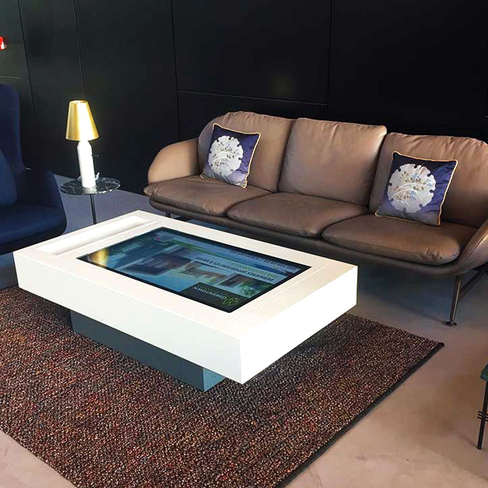 Interactive Tables Developed for Compagnie Générale Immobilière in Morocco