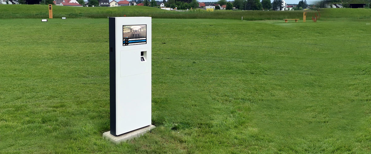 PARTTEAM & OEMKIOSKS TURIN Kiosk Installed at a Golf Course in Austria