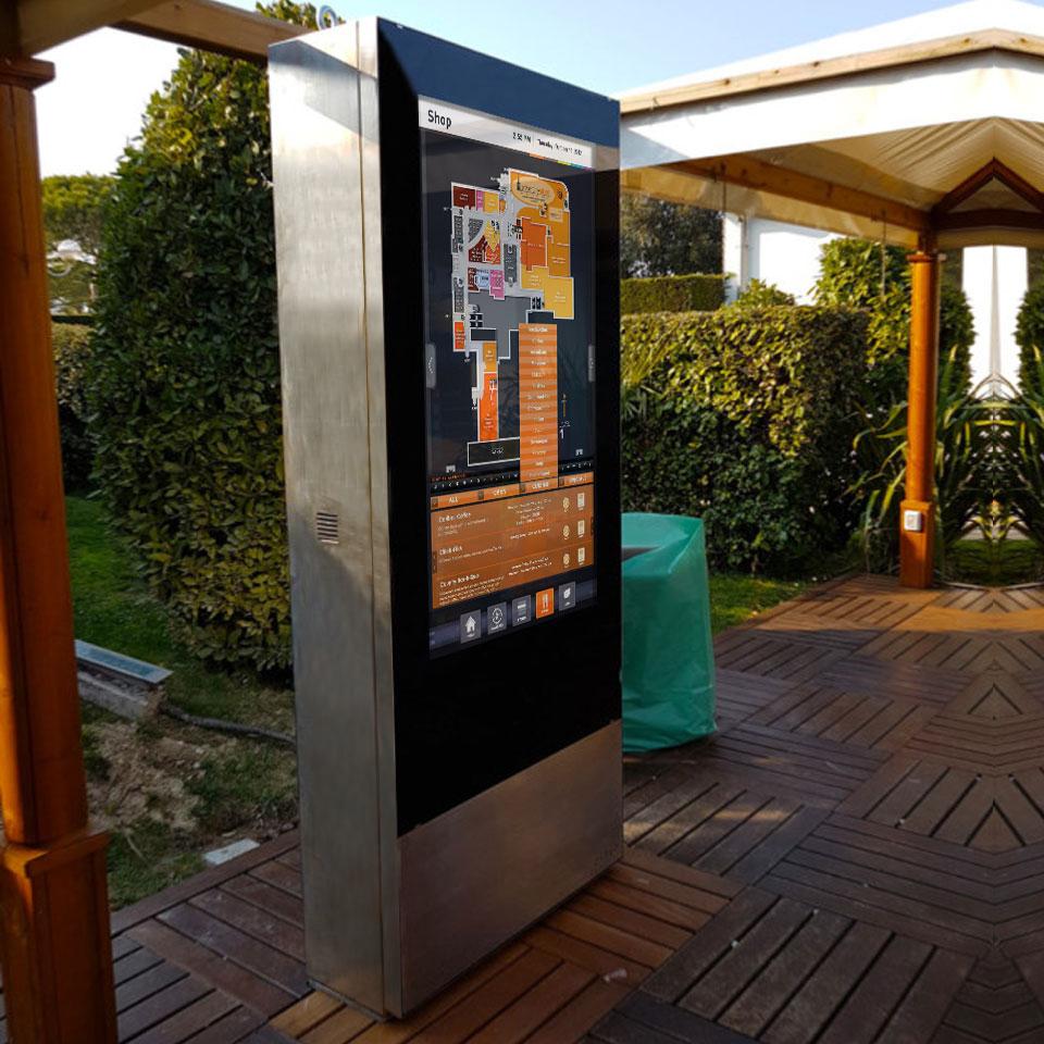 ZYTEC Digital Billboard for Campsite in Jesolo, Italy