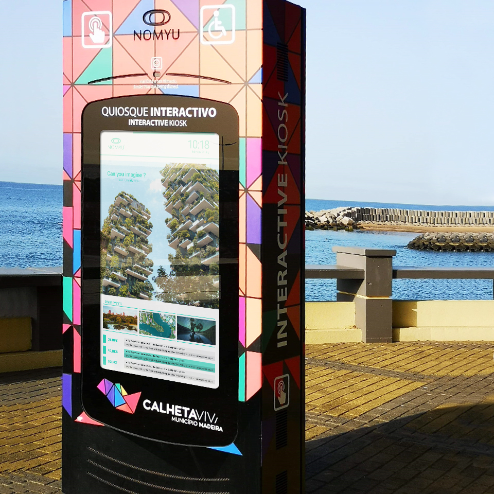 NOMYU digital billboard contributes to the increase of tourism in Madeira