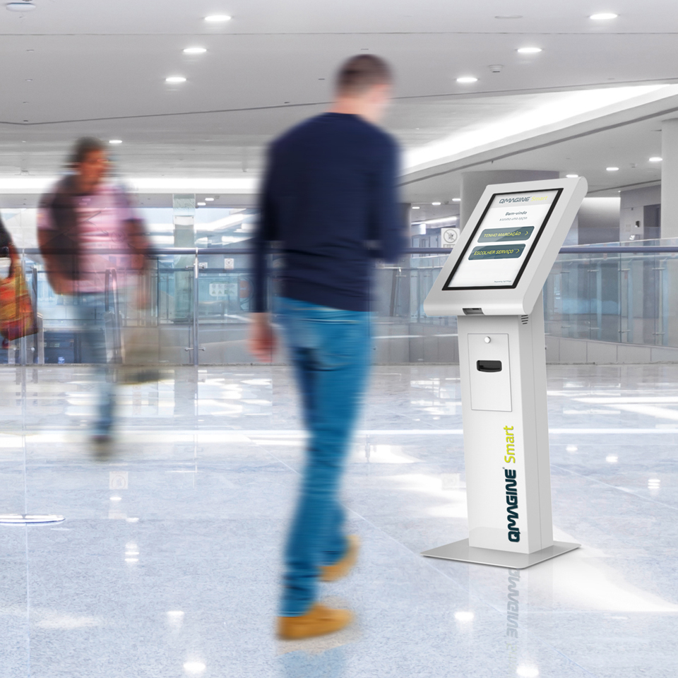 """QMAGINE Smart: The intelligent service system multi-store, """"all-in-one"""", ideal for shopping centers"""