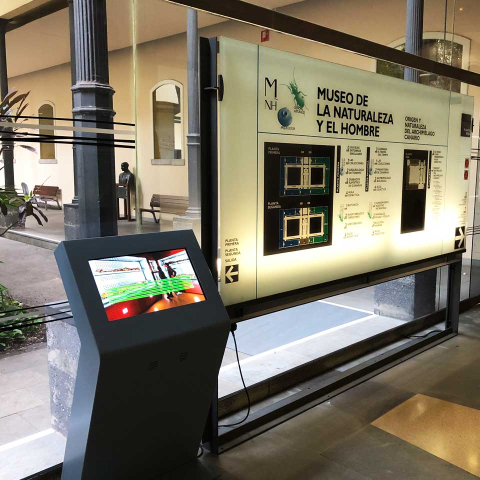 Interactive Kiosks for Museo de la Natureza y el Hombre - Spain