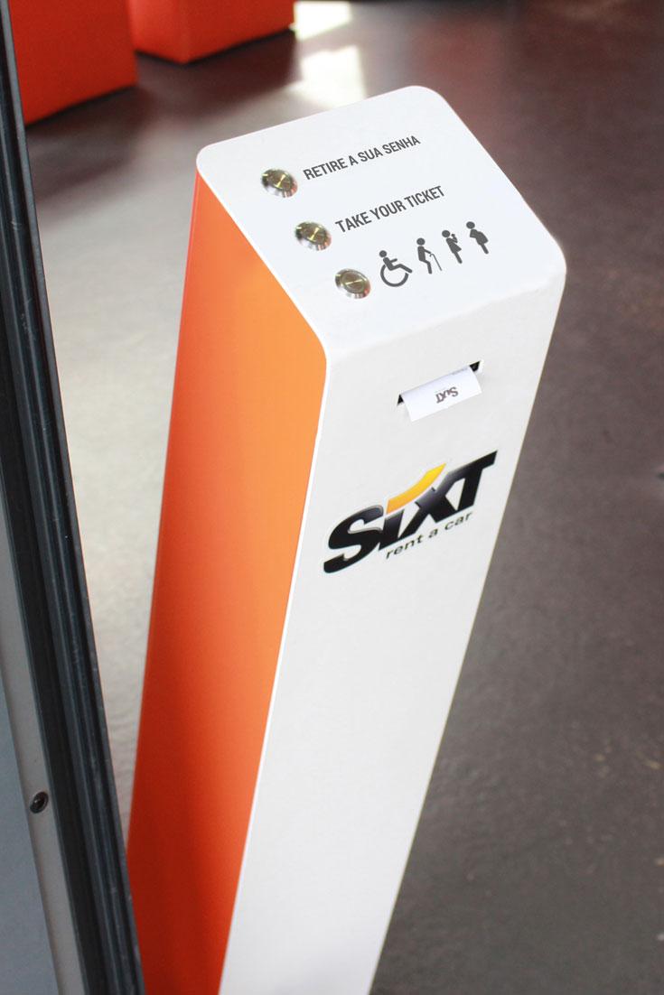 JAP GROUP - SIXT chooses the Queue Management systems QMAGINE by PARTTEAM