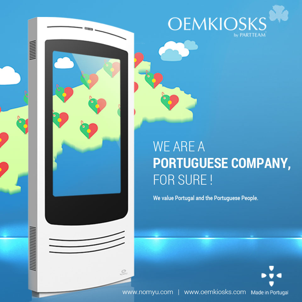 "PARTTEAM & OEMKIOSKS adhere to the movement ""Vá Lá, Portugal Merece !"""