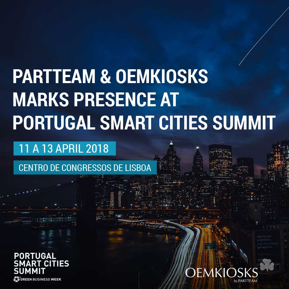 PARTTEAM & OEMKIOSKS marks presence at Portugal Smart Cities Summit