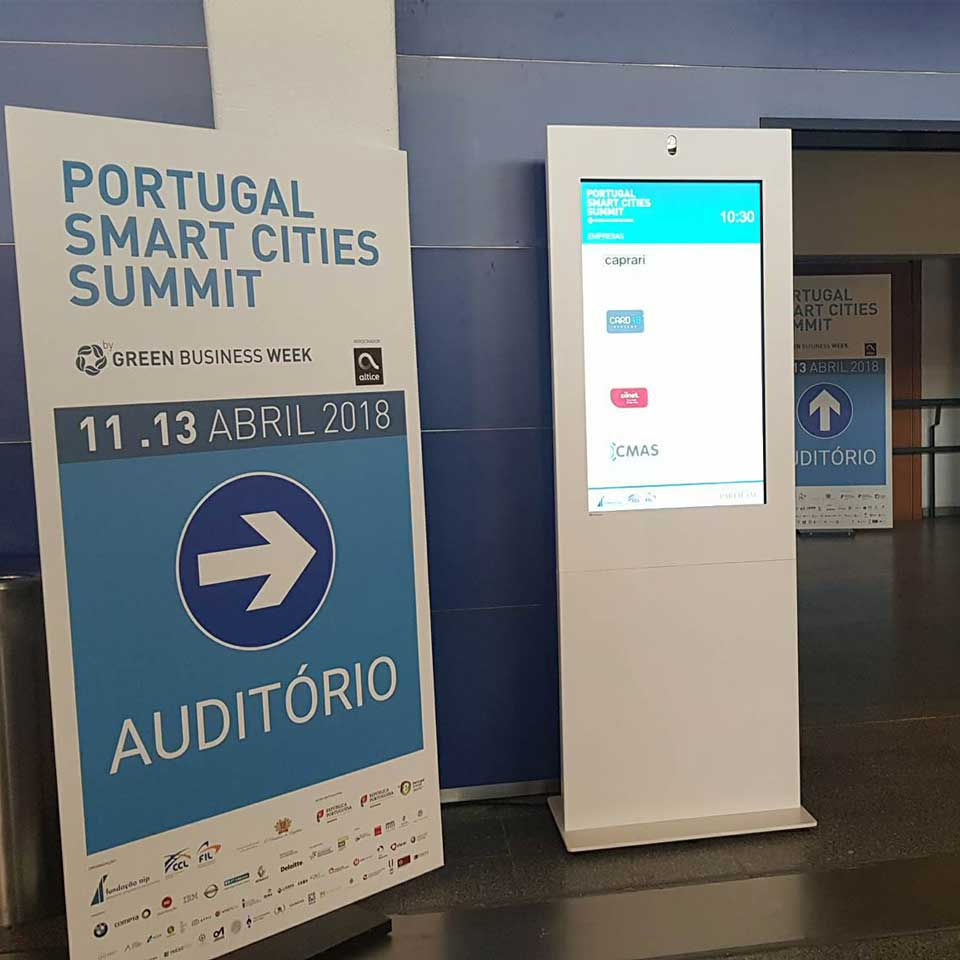PARTTEAM & OEMKIOSKS at Portugal Smart Cities Summit - Lisbon